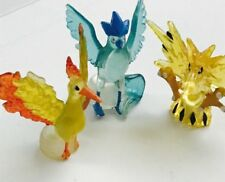 Clear leggendario Birds 3pc POKEMON Nintendo c.g.t.s.j MINI FIGURES Zapdos Moltres