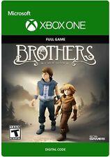 Hermanos: un cuento de dos hijos región libre de código de descarga digital (Xbox One)