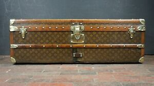 Louis Vuitton Cabin Trunk 1920s Coronet or the Marquis