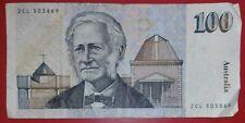 Australia ND (1985) $100 dollar bill R.A. Johnston & B.W. Fraser P-48b