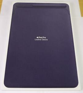 """Genuine Apple Leather Sleeve Case for iPad Pro 10.5"""" & Air 3 - Midnight Blue"""