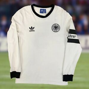 Germany Adidas Originals 1974 Beckenbauer Soccer Jersey Tee Medium World Cup DFB