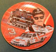 "Hamilton/Nascar/Dale EarnhardtLt. Ed Collector Plate - 6 1/2"" - Silver Select"