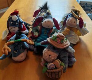 Disney Winnie the Pooh Bean Bag Plush+ Eeyores
