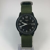 Timex Mens Indiglo Classic Weekender Date Analog Quartz Wristwatch Nylon Band