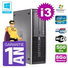 PC HP 8200 SFF Intel I3-2120 8gb Disco 500gb Grabador Wifi W7