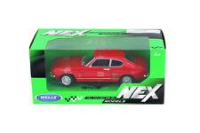 1:24 Red 1969 Ford Capri WELLY DIECAST CAR