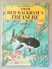1974 RED RACKHAM'S TREASURE by Herge THE ADVENTURES OF TINTIN