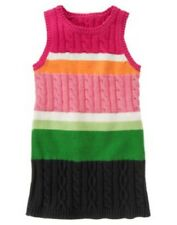Gymboree Cheery All The Way Sweater Dress Size 6 Stripes Jumper Girl New Winter