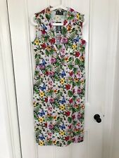 Lady Vintage Annie Dress, Pencil Wiggle Dress 12 Floral Pink, Retro Rockabilly