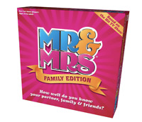 MR & MRS FUNNY BOARD GAME FAMILY BOARD GAME KIDS/CHILDREN XMAS PRESENT AND GIFT