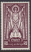 """IRELAND, Scott #122: 5/-, Mint, 1943 2nd Permanent Defin. Series - """"E"""" wmk"""