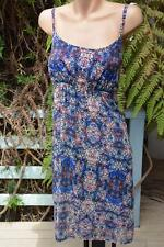 Katies Exclusive Print SWANKY DRESS Size16 NEW RRP $59.95 Shirred Back. LINED