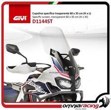 Givi Windschild transparente 60×35 cm für Honda CRF1000L Africa Twin 16>