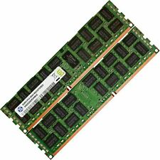 32GB 2x16GB Memory Ram Server DDR3 PC3 10600 1333 MHz 240-pin ECC Registered