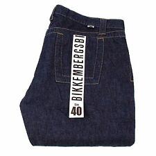 BIKKEMBERGS NEW 13UX 132 zip all side men Jeans in Size 40