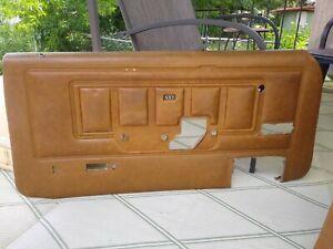 door panels 1970 Mercury Cougar XR-7