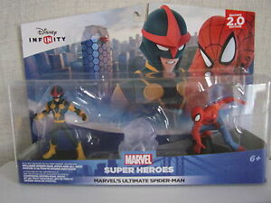 Disney Infinity 2.0 Marvel's Ultimate Spider-Man Playset - Nip