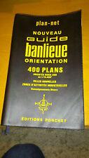 Guide banlieue orientation 400 communes - Editions Ponchet