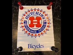 OG 1980s Hutchins Hutch Poster Vintage Old School BMX Haro GT jmc trickstar cw