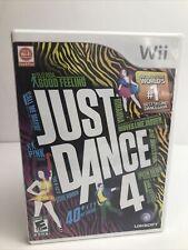 Just Dance 4 (Nintendo Wii, 2012) Complete