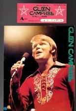 CPH27042 Glen Campbell 1974 Japan Concert Program Book w/ ticket stub