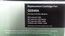 Q5949A-10 Black Laser Toner for HP LaserJet 1160 1320 3390 3392 CANON LBP 3300K