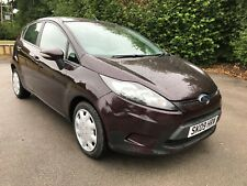 2009 09 FORD FIESTA STYLE+ 80 RED IDEAL FIRST CAR FSH LOW MILES