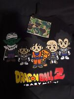 BAPE x Dragon Ball Z Hoodie Black size SMALL PERFECT CONDITION 100% AUTHENTIC