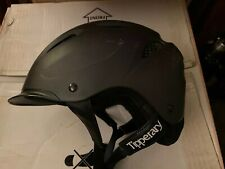 Tipperary Sportage Riding Helmet Sz S 52-53 cm ASTM F1163-04a Charcoal Gray