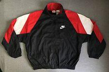 Nike Windbreaker 90s Vtg Jordan Big Swoosh Blazer Bulls Colorblock Jacket Sewn L