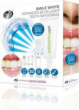 Rio Beauty Smile White Advanced Blue-Light Teeth Whitening Treatment NEW!