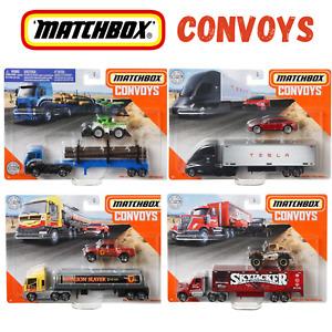 1 x Matchbox Convoys Tesla, Ford, Skyjacker, Dragon Slayer, Assortment U Choose
