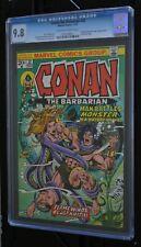 CONAN THE BARBARIAN # 32 : CGC 9.8 (NEAR MINT/MINT) : NOV 1973 : MARVEL COMICS.