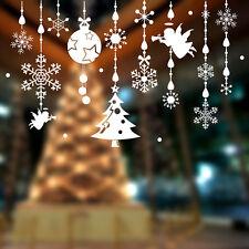 Ángel de Navidad Colgante Pegatinas De Pared Decoración de ventana año nuevo Hazlo tú mismo