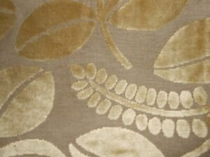 Designers Guild Calaggio Cut Velvet Upholstery fabric 3/4Y new remnant