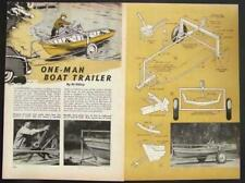 Small Boat Trailer underslung How-To Build Plans
