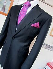 Gorgeous Bespoke Black Single button front Cocktail Jacket Blazer UK 40 EU 48