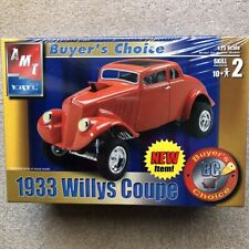 AMT Ertl 1933 Willys Coupe Plastic Model Kit