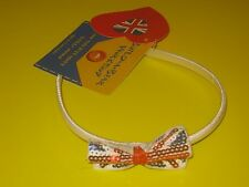 New BUILD-A-BEAR Accessory UNION JACK HEADBAND Blue Red UK EXCLUSIVE England