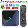 A95X F3 AIR 2G+16G 8K Android 9.0 TV BOX S905X3 Quad Core 5G WiFi BT4.2 3D Media