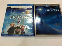 Frozen Collector's Edition Blu-Ray+DVD+Digital, 2017 w/ Slipcover NEW Sealed