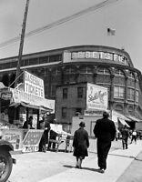 Ebbets Field Large Photo 11X14 - 1940's Brooklyn Dodgers Flatbush Robinson