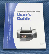 Epson Stylus Photo R300 Series User's Guide Instruction Manual ONLY EUC G977