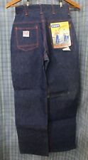 Vtg NOS 1950's Test Side Zip Dungarees Work Wear Womens Misses Size 10 Jeans 50s