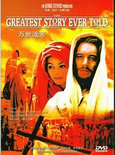 "New DVD "" The Greatest Story Ever Told ""  Max von Sydow"