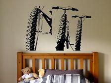 Wall Sticker Bedroom Decal Bicycle BMX sport bike ride boys kids nursery bo2921
