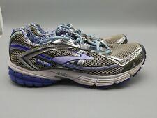 Brooks Ravenna 3 Shoes Womens Running Walking Cross Train Silver Purple Sz 11 43