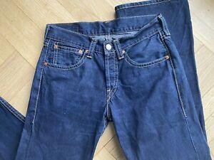 Levi's Levis  Type 1 Jeans 907 W34 L36 dunkel Blau