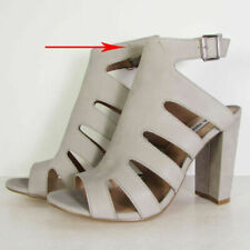 Scarpe col tacco da donna grigi altissimo (più di 10 cm)